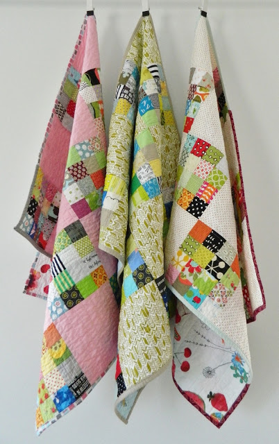 16 block baby quilts