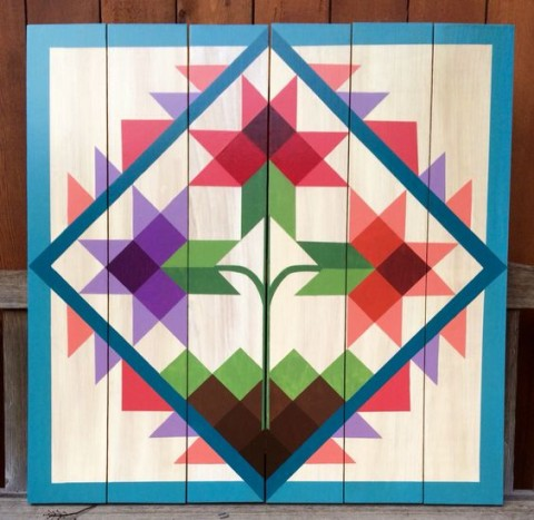 Barn Quilt by Chela