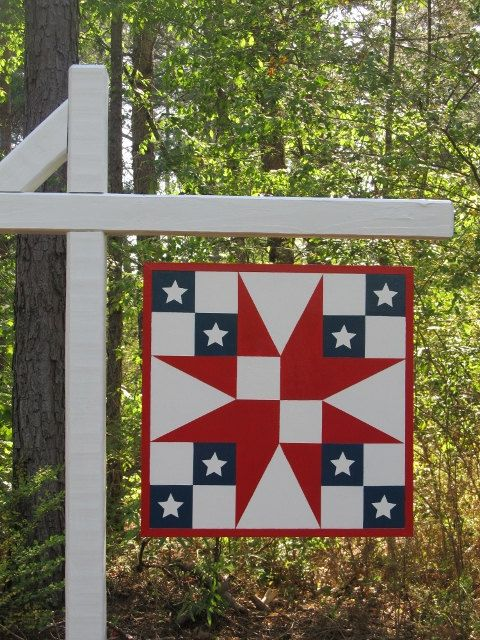 How to create a barn quilt quilting digest for Mini tin mailboxes for crafts