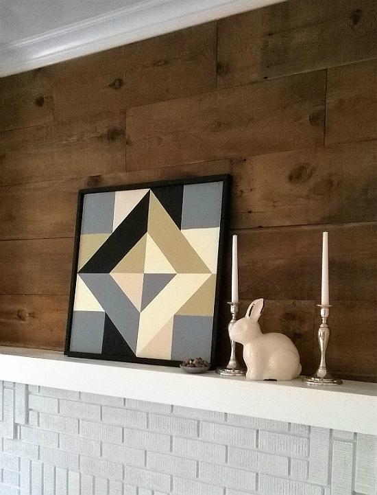 Make an Indoor Barn Quilt
