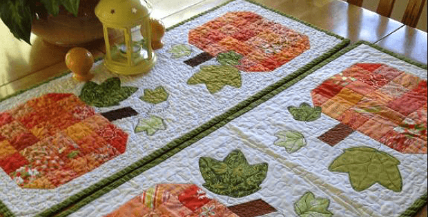 12 Charming Pumpkin Patterns for Quilters - Quilting Digest : pumpkin quilt patterns - Adamdwight.com