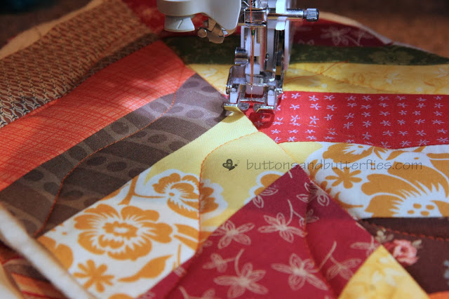 Curved Quilting