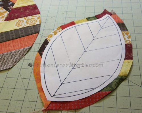Leaf Potholder Pattern