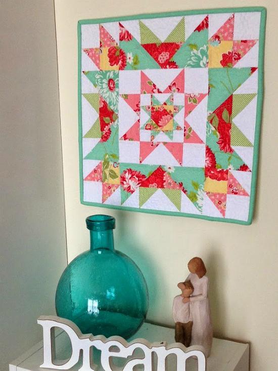 Star Cluster Mini Quilt Pattern