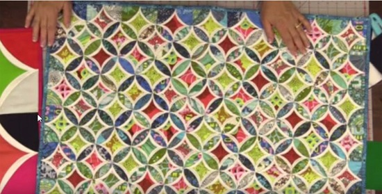 You'll Love This Easy Method for Cathedral Windows! - Quilting Digest : pattern for cathedral window quilt - Adamdwight.com