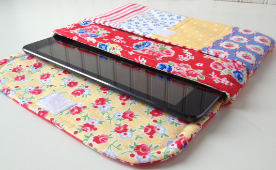 Make a Patchwork Case for Your iPad or Tablet