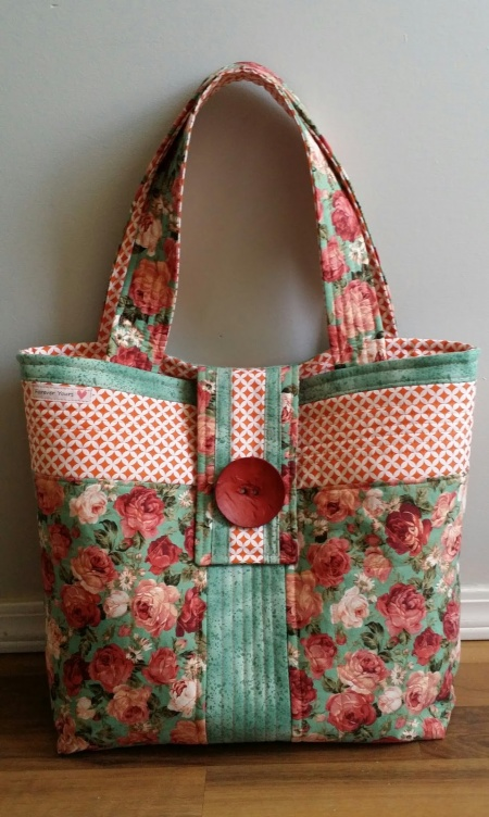 Rose Fabric Bag