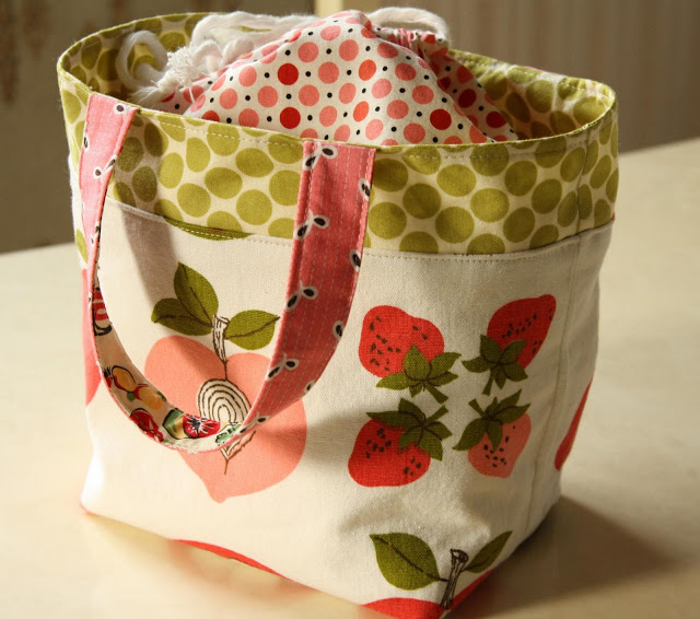 Strawberries Lunch Bag