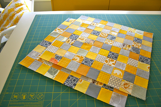 Quilt Block of Many Squares