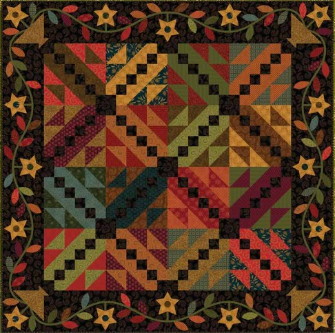 Four Free Quilt Patterns From Kim Diehl Quilting Digest