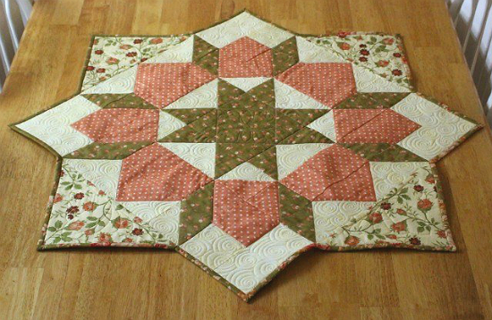 Swoon Table Topper Tutorial