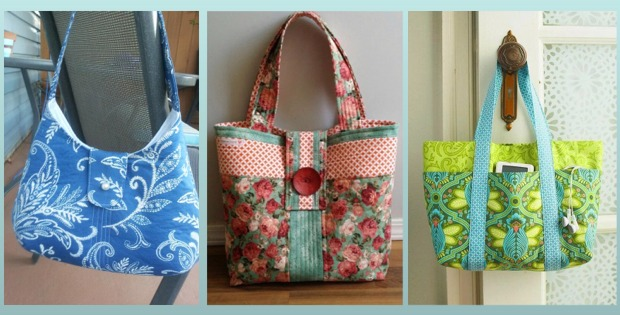 5 Lovely DIY Tote Bags Carry Everything in Style - Quilting Digest