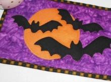Bats Mug Rug
