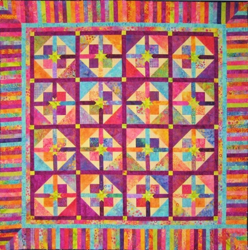 Scrappy Star Quilt