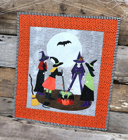 Stirring Up Trouble Mini Quilt Pattern