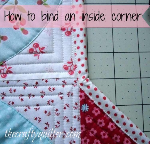 How to Bind Inside Corners