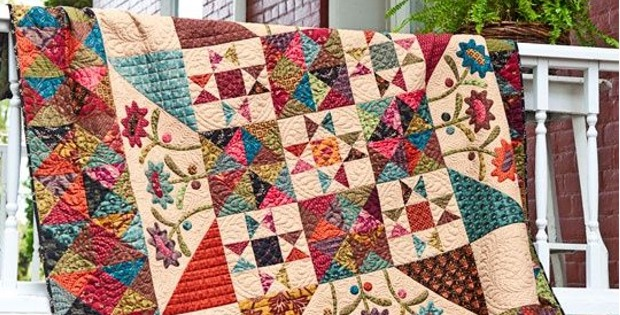 Four Free Quilt Patterns From Kim Diehl Quilting Digest Gorgeous Free Quilting Patterns