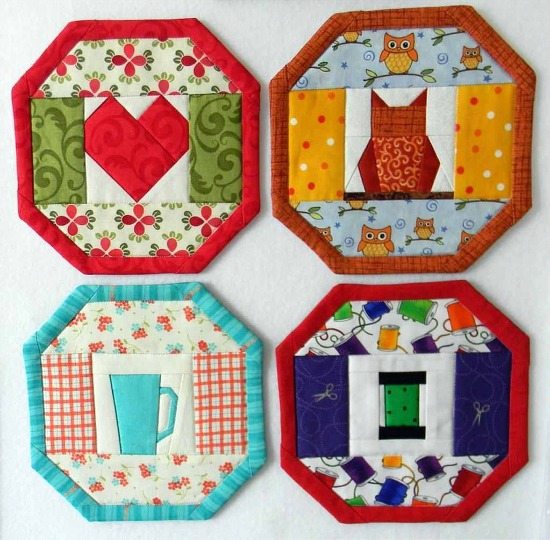 24 Mug Rugs In One Pattern Quilting Digest