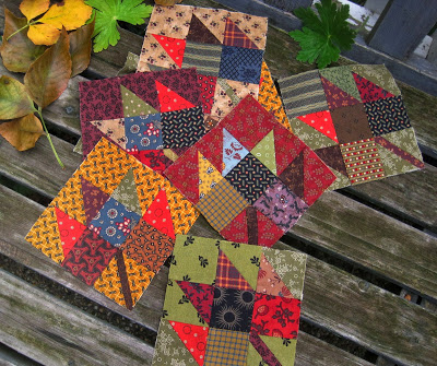 Maple Leaf Quilt Blocks