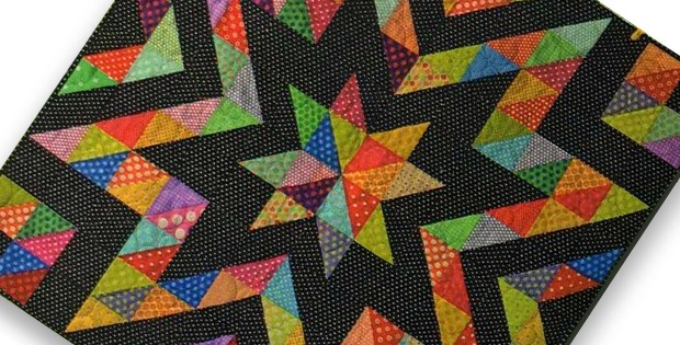 Dots Make This Quilt Sparkle Quilting Digest