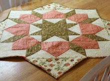 Swoon Block Table Topper Tutorial