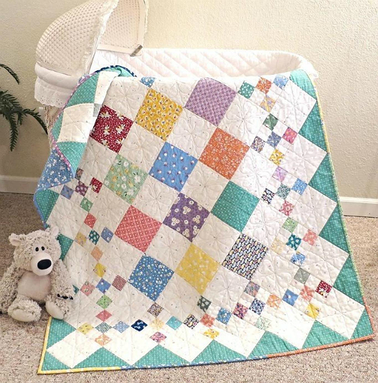 Diamond Patch Quilt