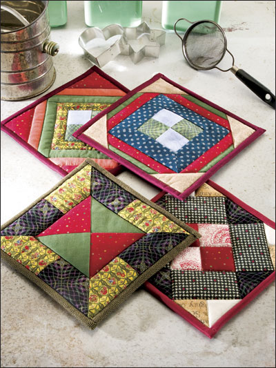 Town Square Potholders Pattern