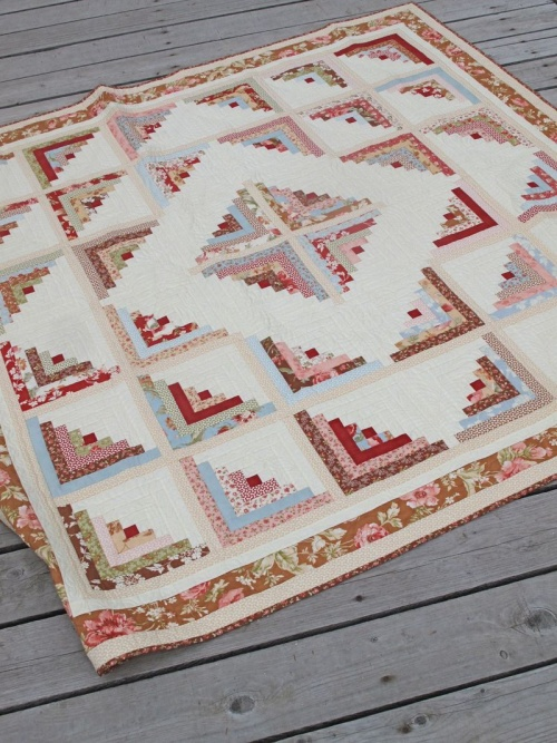 Log Cabin Quilt Border Ideas