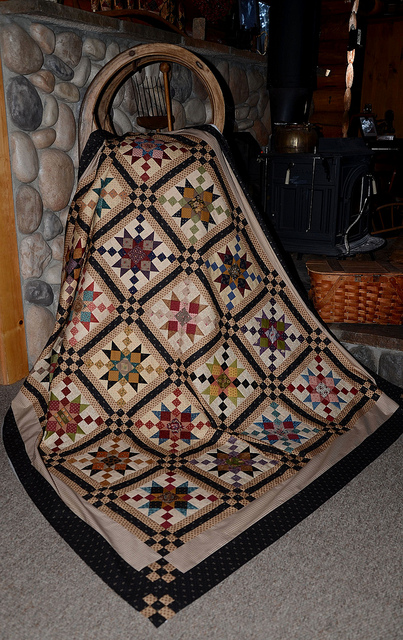 This Gorgeous Quilt Isn T Just For Christmas Quilting Digest