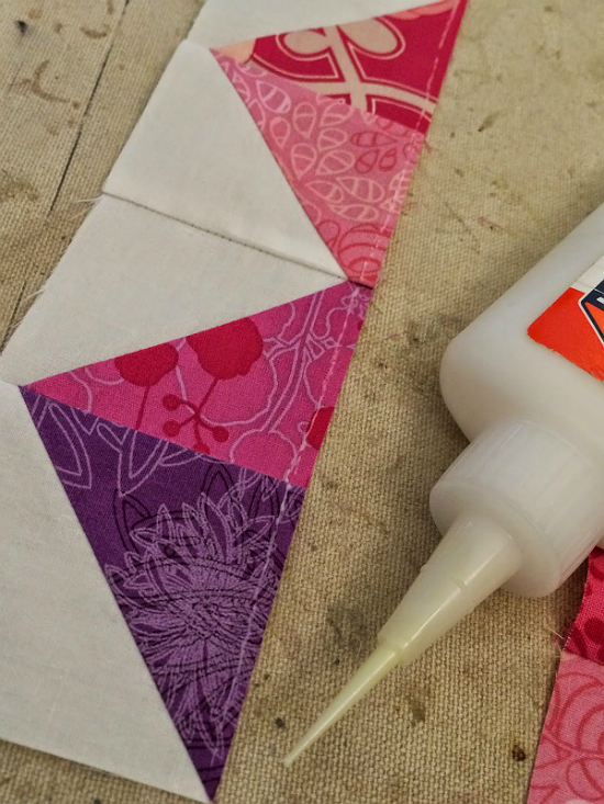 Glue Basting Seams