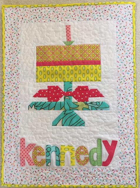 Kennedy's Birthday Cake Banner