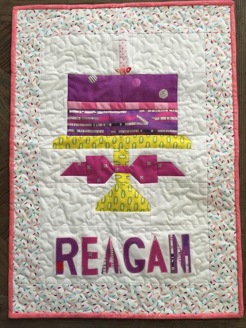 Reagan's Birthday Cake Banner