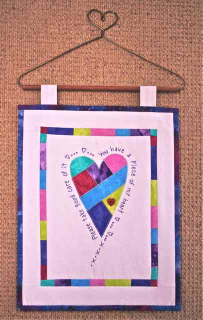 Piece of My Heart Quilt