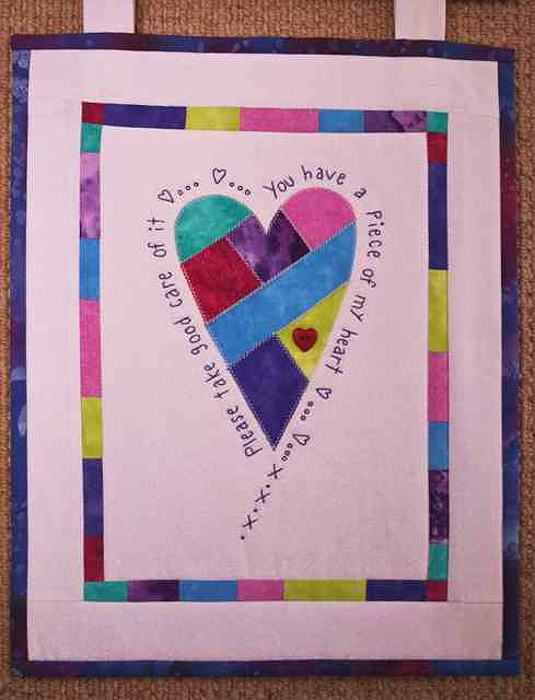 Piece of My Heart Quilt Pattern