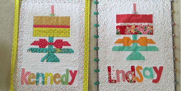 They Ll Love A Personalized Birthday Cake Banner Quilting Digest