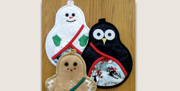 Christmas Potholder Trio Pattern