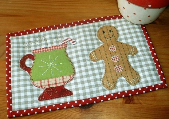 You Can Almost Smell These Quilty Gingerbread Men - Quilting Digest : gingerbread man quilt - Adamdwight.com