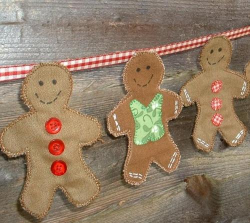 Gingerbread Men Bunting