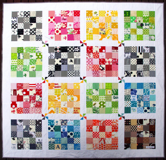 Quilting Digest Free Patterns : This Quilter s Palette Quilt is a Breeze to Make - Quilting Digest