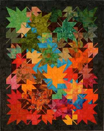 New Leaves Wallhanging Pattern