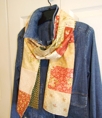 Charm Square Scarf Pattern