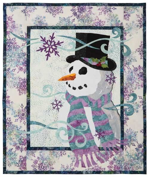 Build A Snowman With This Lovely Quilt Pattern Quilting Digest