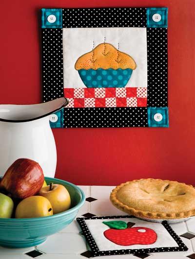 Apple Pie Quilt Pattern Set