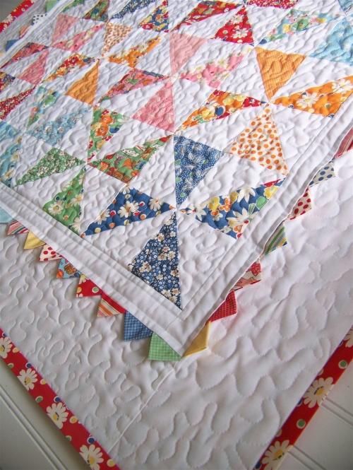 Pinwheel Quilt Tutorial