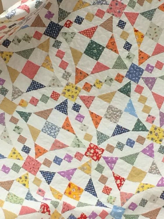Use Up Those Scraps On This Lovely Quilt Quilting Digest