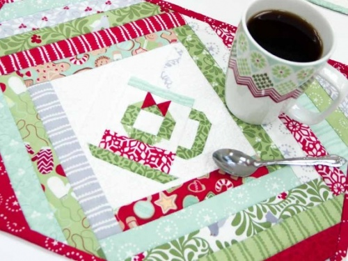 In From The Cold Placemat Pattern