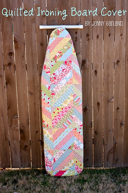 Patchwork Ironing Board Cover Pattern
