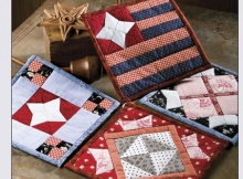 Stars and Stripes Potholders