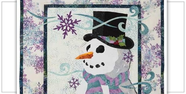 Build a Snowman with This Lovely Quilt Pattern - Quilting Digest : snowman quilt pattern - Adamdwight.com