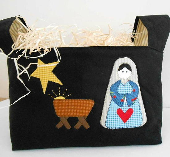Nativity Basket
